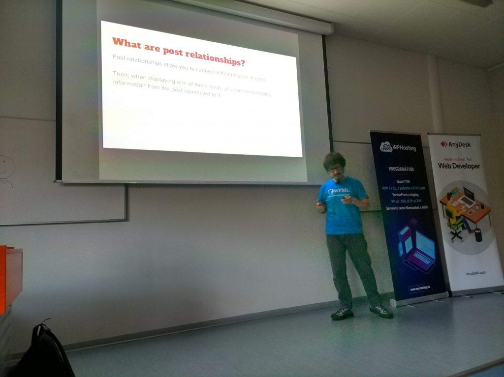 WC Prague - Dario Speaking